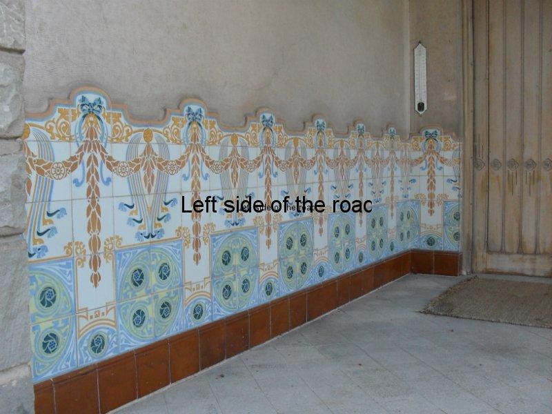 Front porch - Casa Barbey, La Garriga