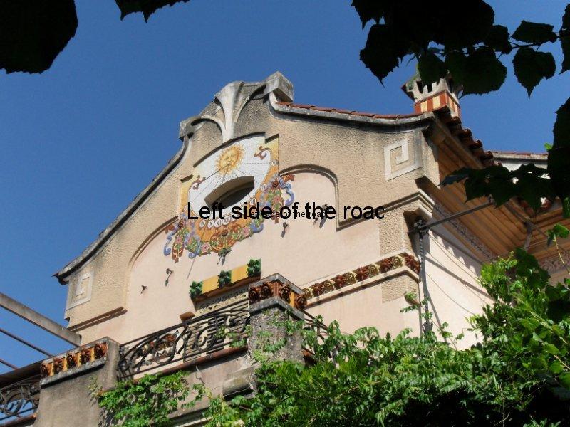 Sun dial - Casa Barbey, La Garriga