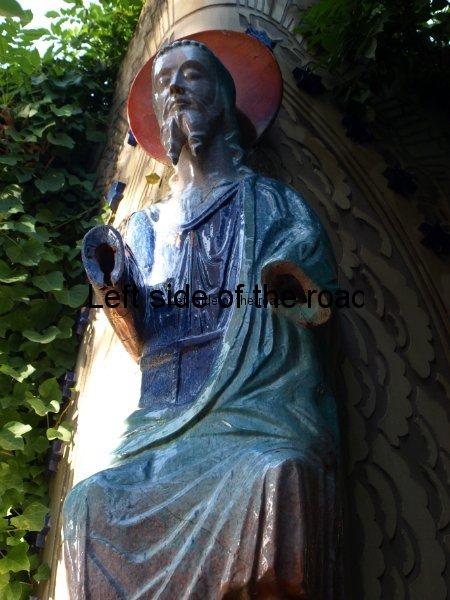 Ceramic Christ - Casa Barbey, La Garriga