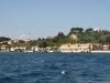 Corfu port from Sranda Albania bound fast ferry Kristi