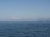 Albanian mountains from half way to Saranda