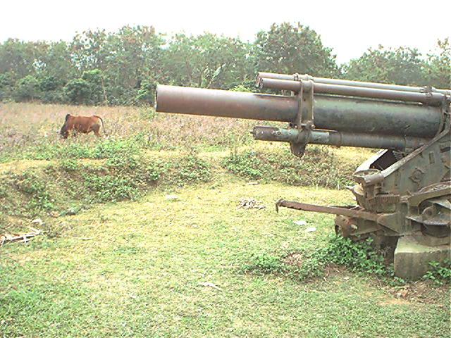 Dien Bien Phu - Abandoned artillery