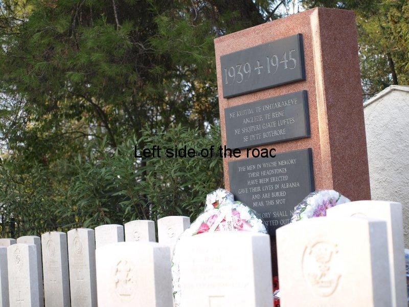 English Cemetery Tirana Albania