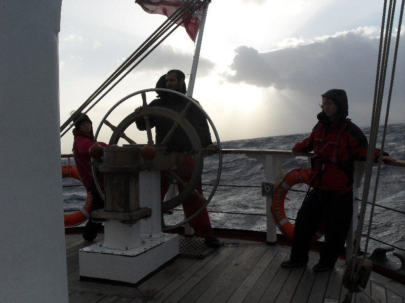 Sailing in the western Atlantic
