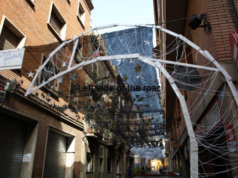 Cuidad Real - Carrers Guarnits, Gracia, Festa Major, Barcelona, 2012