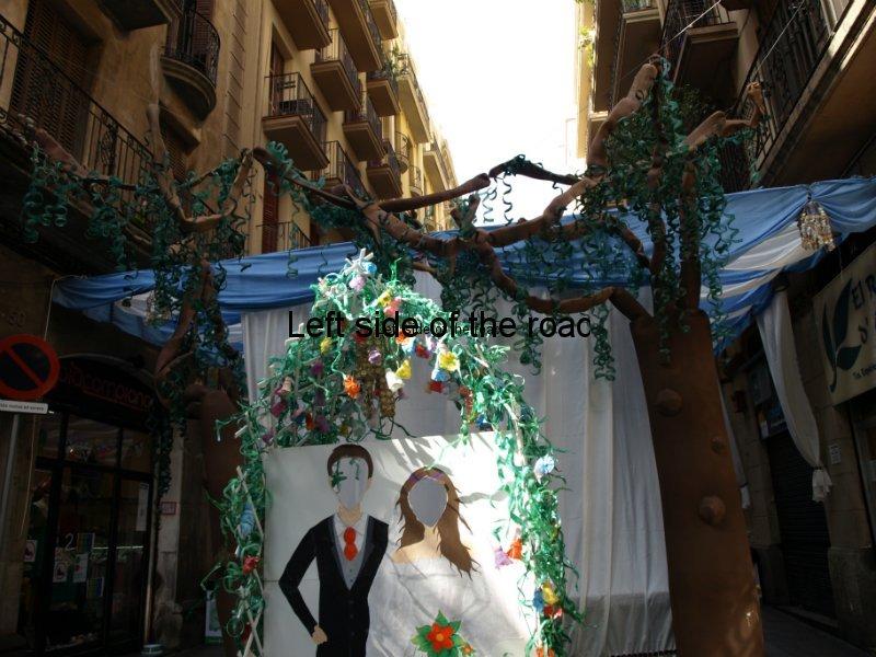 Puigmarti - Carrers Guarnits, Gracia, Festa Major, Barcelona, 2012