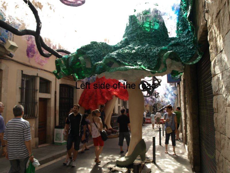 Fraternitat - Carrers Guarnits, Gracia, Festa Major, Barcelona, 2012