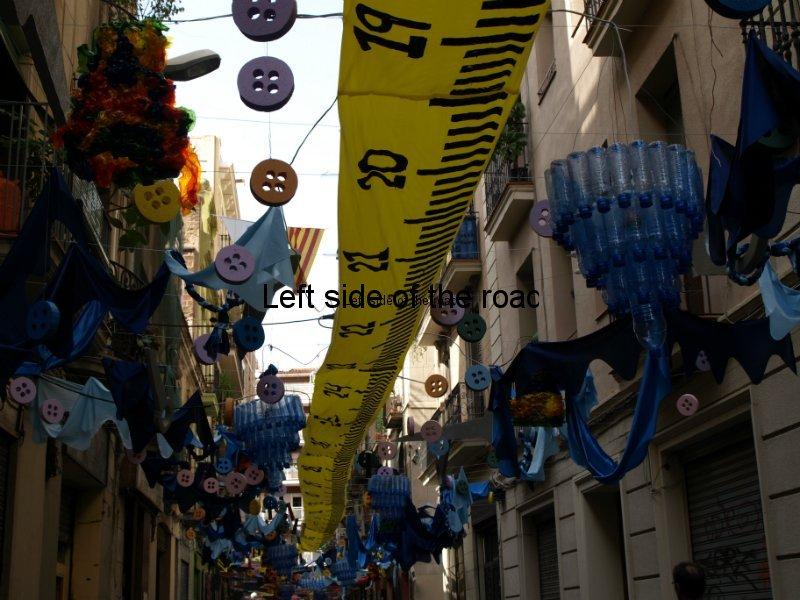 Libertat - Carrers Guarnits, Gracia, Festa Major, Barcelona, 2012