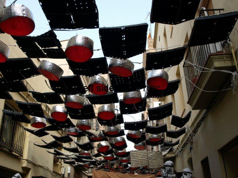 Progres - Carrers Guarnits, Gracia, Festa Major, Barcelona, 2012