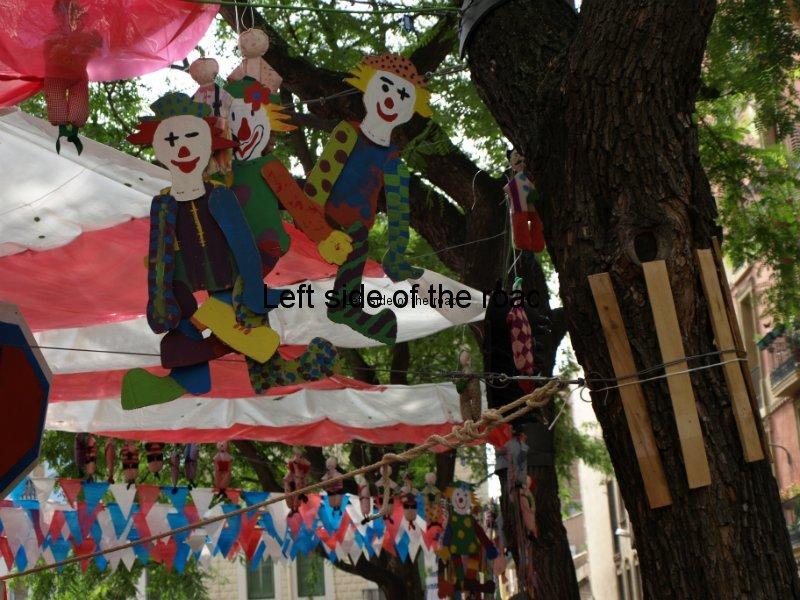 Vila de Gracia - Carrers Guarnits, Gracia, Festa Major, Barcelona, 2012
