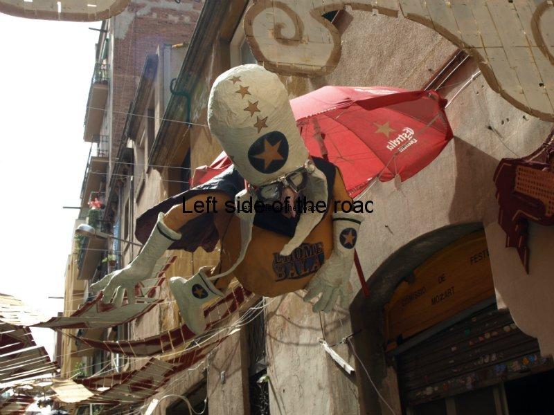 Mozart - Carrers Guarnits, Gracia, Festa Major, Barcelona, 2012