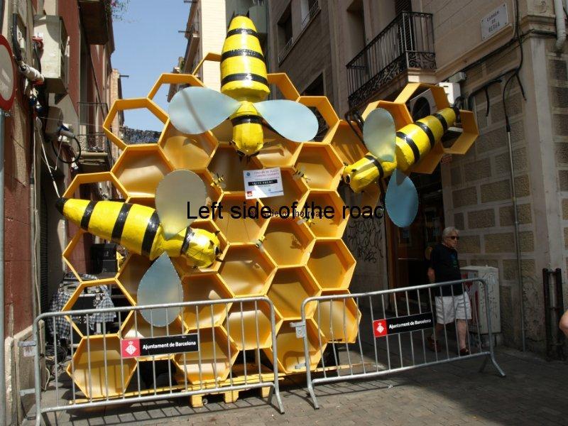 Berga - Carrers Guarnits, Gracia, Festa Major, Barcelona, 2012