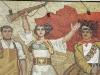 'The Albanians' - Mosaic on National Historical Museum, Tirana