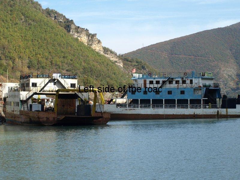 Lake Komani Ferry