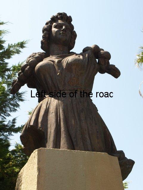 New Liri Gero statue - Fier