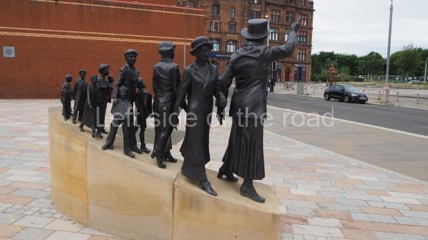 Mary Barbour statue, Govan, Glasgow