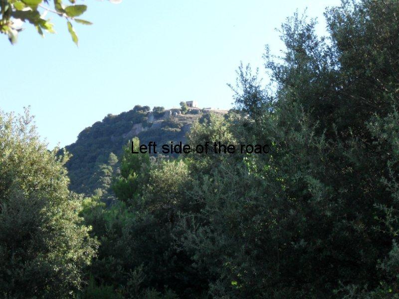 Santa Maria de Taganament  from Creu de Coll Can - Walk from Montseny to Taganament