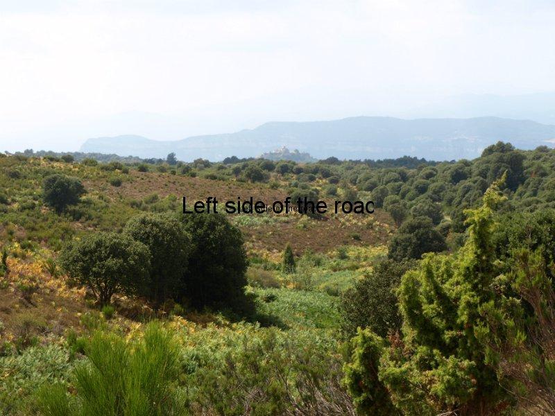 Santa Maria de Taganament  from La Calma - Walk from Montseny to Taganament