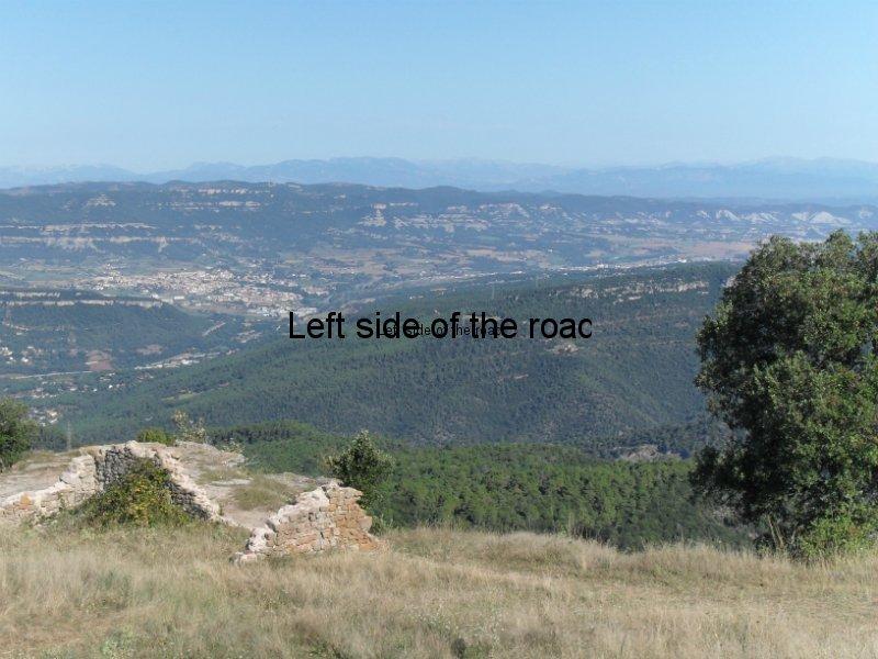 View from Santa Maria de Taganament - Walk from Montseny to Taganament