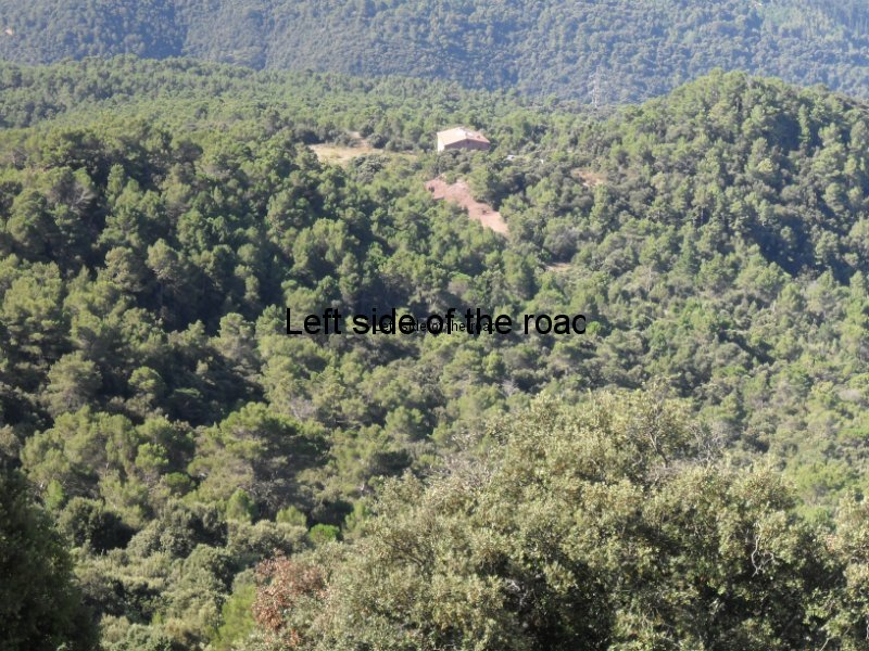 Can Coll from Santa Maria de Taganament - Walk from Montseny to Taganament