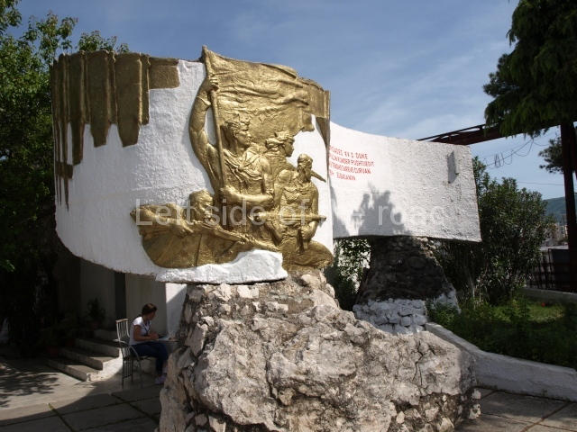 Monument to the 15th Brigade, Elbasan
