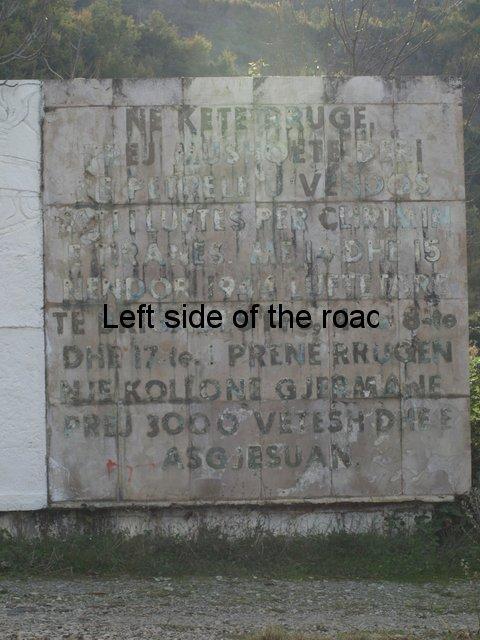 Mushqete Monument, Berzhite