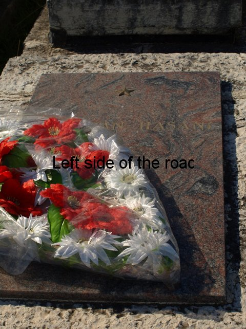 National Martyrs' Cemetery, Tirana - Comrade Hazani