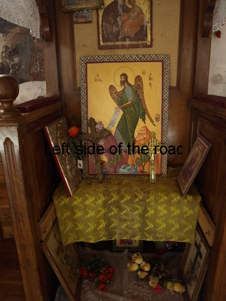 Ad-hoc Altar - Monastery Church of Panagia (Mother of Christ) in Dhermi