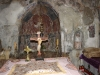Small altar in Monastery Church of Panagia (Mother of Christ) in Dhermi