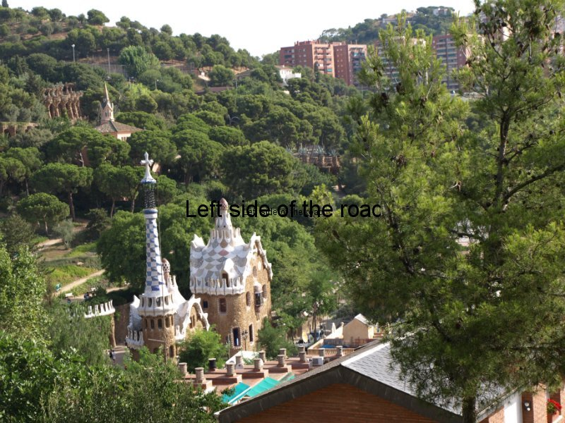 'Magic Mushroom' buildings - Parc Guell, Barcelona