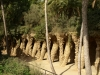 Colonnaded footpath - Parc Guell, Barcelona