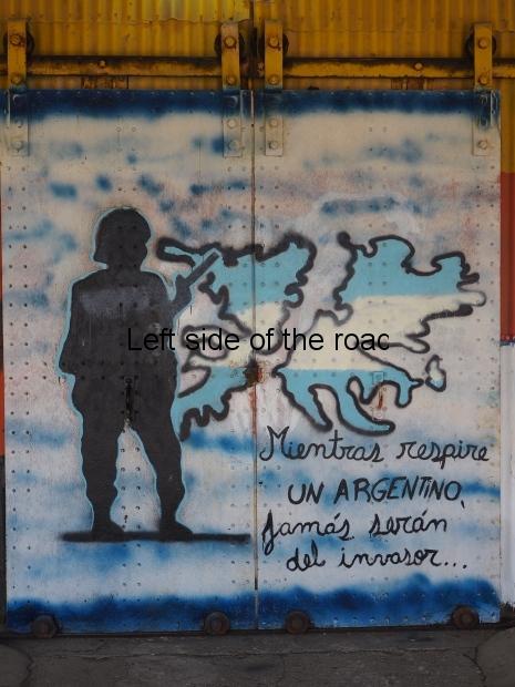 Las Malvinas son Argentinas - Rio Gallegos
