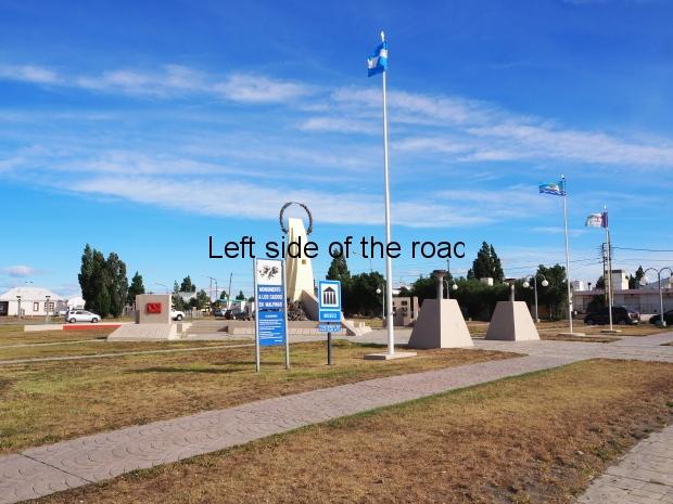 Monument to the Fallen in Las Malvinas - Rio Gallegos
