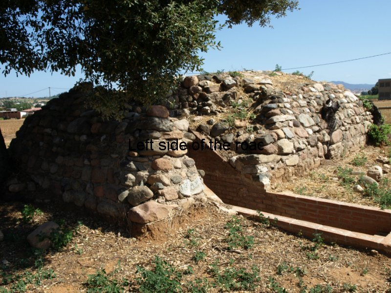 Air-raid shelter No 1 at Rosanes Airfield, La Garriga, Catalonia