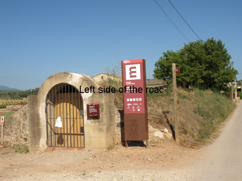Can Sorques air-raid shelter at Rosanes Airfield, La Garriga, Catalonia
