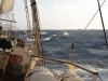 Tall ship during Atlantic gale