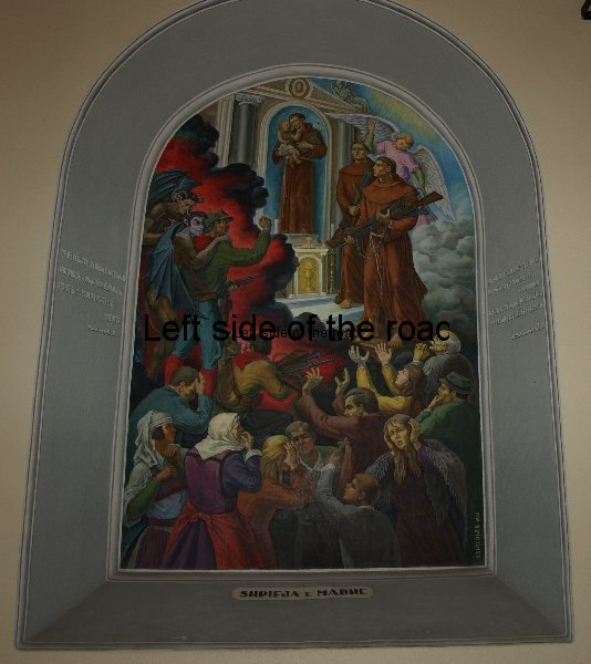 Anti-Communist Paintings in Shkoder Church