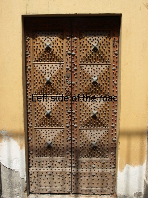 Studded door - Via Tassis