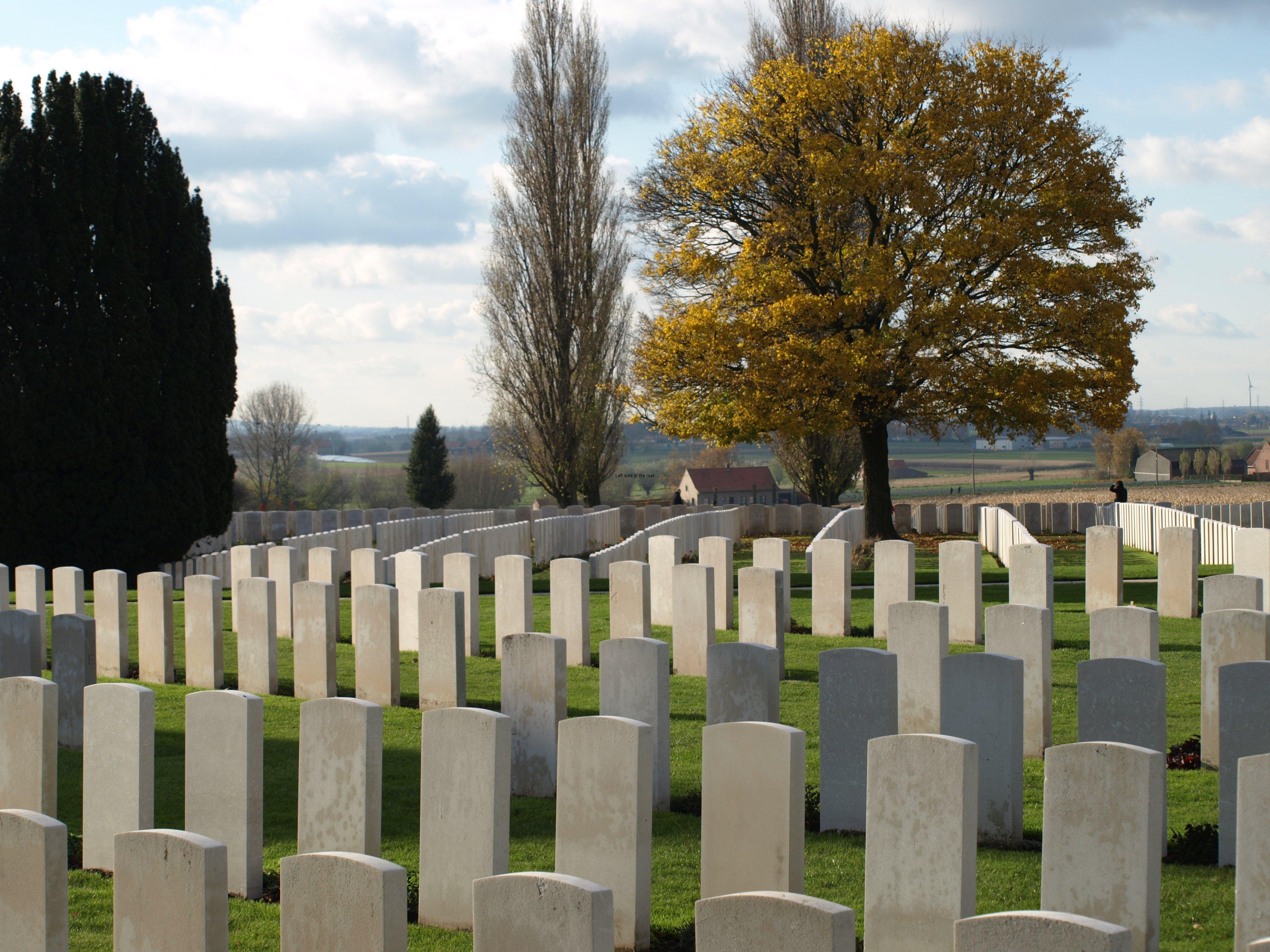 Tyne Cot Cemetery, Passendale, Belgium