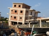 Destroyed building at Ksamili, southern Albania 06