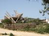 Destroyed building at Ksamili, southern Albania 03