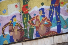 Aia Spa Hotel, Tskaltubo - musicians and dancers